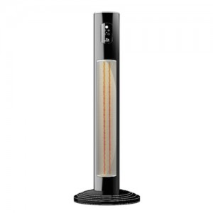 Chillchaser Hercules infrared electric patio heater in black