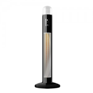 Chillchaser Titan Infrared electric patio heater in black