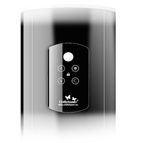 Patio heater touch control panel